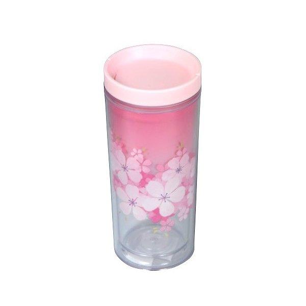 Starbucks スターバックス 海外限定品  春 ピンク 桜さくら プラスチック ウオーターボトル 金ロゴ タンブラー