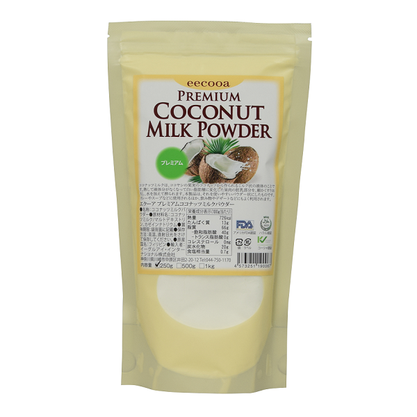 エクーア ココナッツミルクパウダー